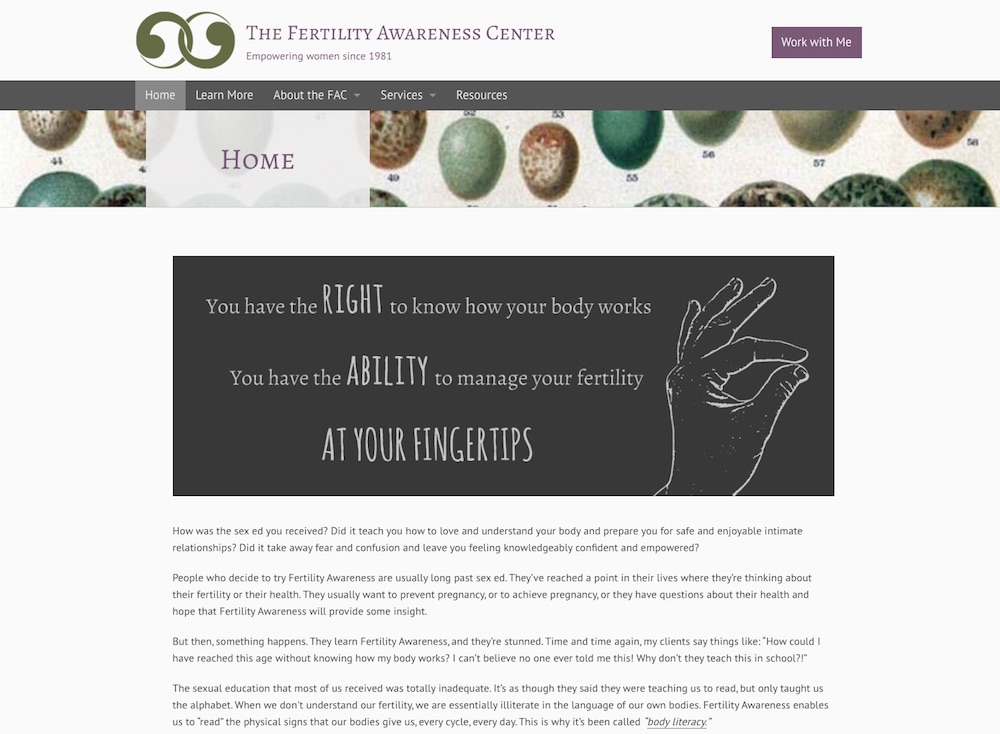 Fertility Awareness Center