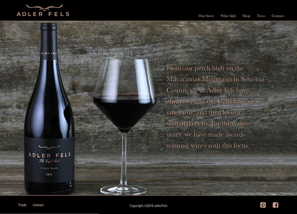 Wine Trees USA Microsites